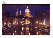 Amsterdam In The Netherlands By Night Carry-all Pouch