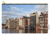 Amsterdam Old Town At Sunset Carry-all Pouch