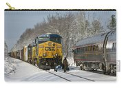 Amtrak And Csx Crews Carry-all Pouch