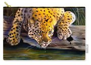 Amur Leopard  Spotted Something Carry-all Pouch