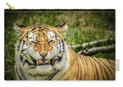Amur Tiger Smile Carry-all Pouch
