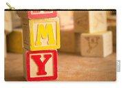 Amy - Alphabet Blocks Carry-all Pouch