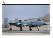 An A-10c Thunderbolt II Landing Carry-all Pouch