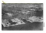 An Aerial View Of Ellis Island Carry-all Pouch