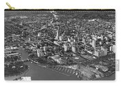An Aerial View Of Miami Carry-all Pouch