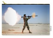 An Afghan National Army Soldier Fires Carry-all Pouch by Stocktrek Images
