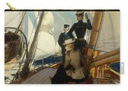 An Afternoon At Sea  Carry-all Pouch by Albert Lynch