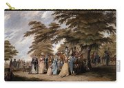 An Airing In Hyde Park, 1796 Carry-all Pouch