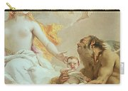 An Allegory With Venus And Time Carry-all Pouch