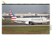 An American Airlines Boeing 767 Carry-all Pouch