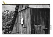 An American Barn Bw Carry-all Pouch by Steve Harrington