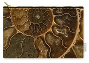 An Ancient Ammonite Pattern II Carry-all Pouch
