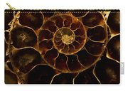 An Ancient Ammonite Pattern  Carry-all Pouch