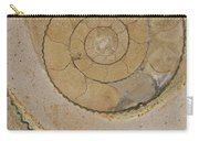 An Ancient Ammonite Pattern Vi Carry-all Pouch
