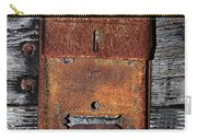 An Antique Mailbox Carry-all Pouch