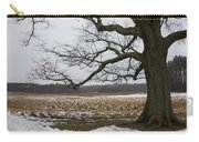 An Appleton Tree And Field In Winter Carry-all Pouch