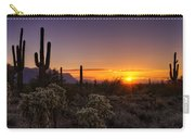 An Arizona Winter Sunrise Carry-all Pouch