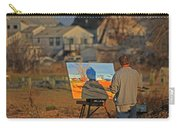 An Artist At Work Carry-all Pouch by Karol Livote