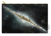 An Artists Depiction Of A Large Spiral Carry-all Pouch by Marc Ward