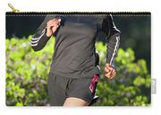 An Athletic Woman Trail Running Carry-all Pouch
