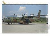 An Eads Casa C-295 Aircraft Carry-all Pouch