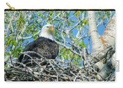 An Eagle In Its Nest  Carry-all Pouch