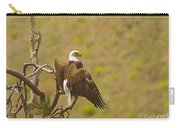 An Eagle Stretching Its Wings Carry-all Pouch