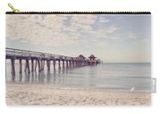 An Early Morning - Naples Pier Carry-all Pouch