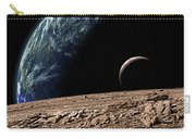 An Earth-like Planet In Deep Space Carry-all Pouch by Marc Ward