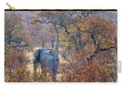An Elephant Making Its Way Carry-all Pouch