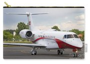 An Embraer Legacy 600 Private Jet Carry-all Pouch