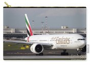 An Emirates Boeing 777 At Milano Carry-all Pouch