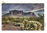 An Evening At The Superstitions Carry-all Pouch