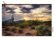 An Evening In The Desert  Carry-all Pouch