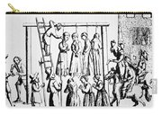 An Execution Of Witches In England Carry-all Pouch