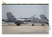 An Fa-18c Hornet At Marine Corps Air Carry-all Pouch