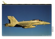 An Fa-18f Super Hornet Displays Carry-all Pouch
