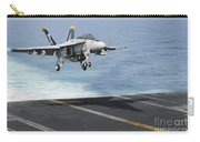 An Fa-18f Super Hornet Prepares To Land Carry-all Pouch