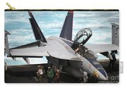 An Fa-18f Super Hornet Sits Carry-all Pouch by Stocktrek Images