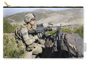 An Infantryman Provides Overwatch Carry-all Pouch