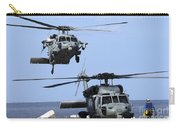 An Mh-60s Sea Hawk Approaches Carry-all Pouch