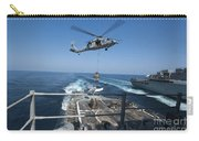 An Mh-60s Sea Hawk Brings Pallets Carry-all Pouch