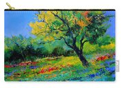 An Oak Amid Flowers In Texas Carry-all Pouch