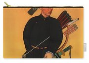 An Officer Of The Qing Army Carry-all Pouch