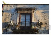 An Old Balcony In Syracuse Carry-all Pouch