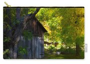 An Old Barn Near Indian Creek, California Carry-all Pouch