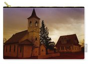 An Old Church In Williston North Dakota  Carry-all Pouch by Jeff Swan