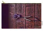 An Old Doorbell Carry-all Pouch