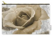 An Old Fashion Rose Carry-all Pouch