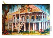 An Old Louisiana Planters House Carry-all Pouch